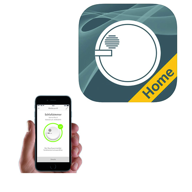 Genius Home App Rauchmelder